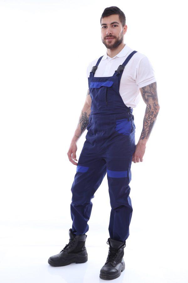 pantalon de salopeta bleumarin
