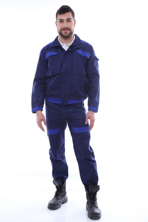 costum de salopeta cu garnituri