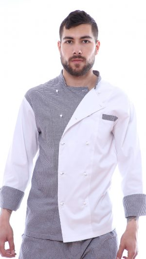 costum chef bucatar pepit