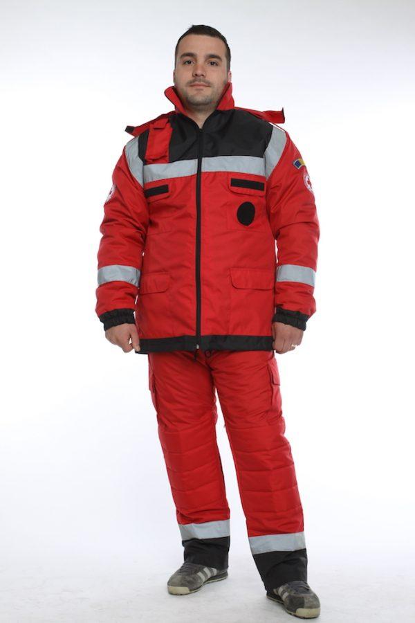 costum rosu pentru crucea rosie