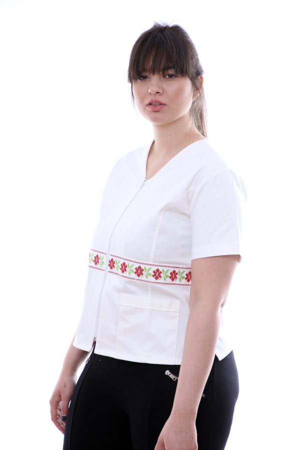 uniforma medicala brodata