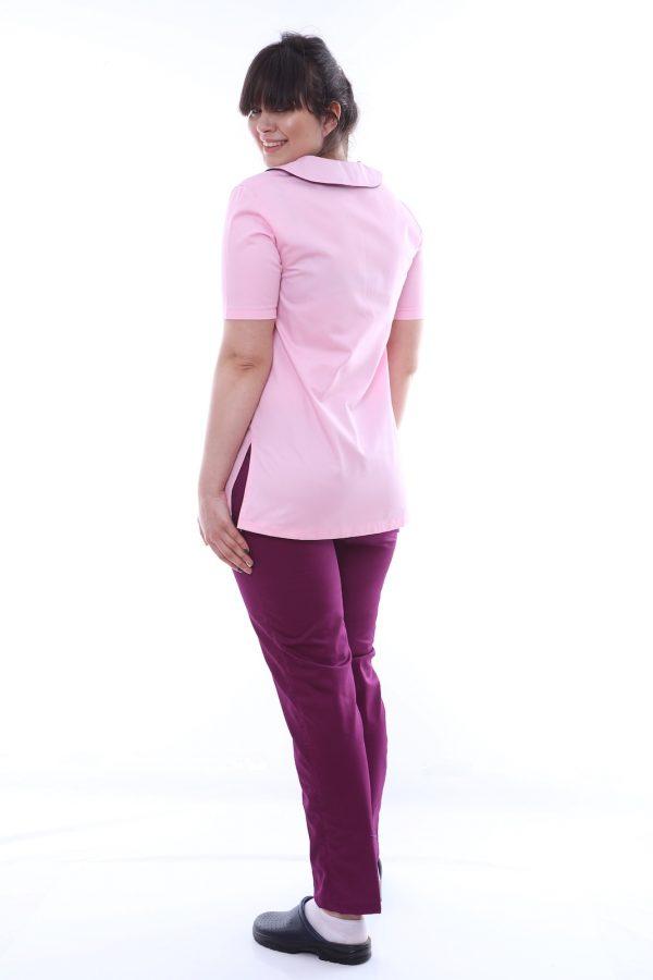 costum medic roz spate