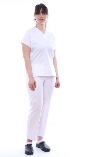 Costum medic alb