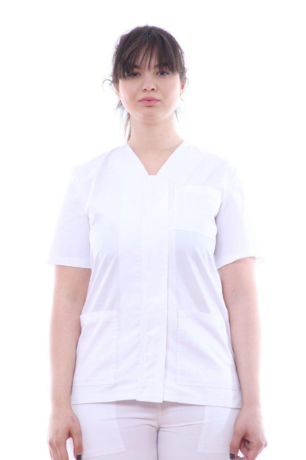 uniforma medic cu fermoar