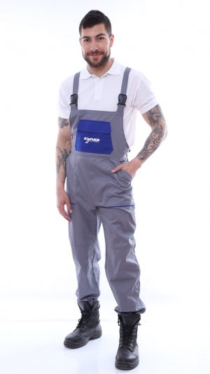 pantalon cu pieptar tercot