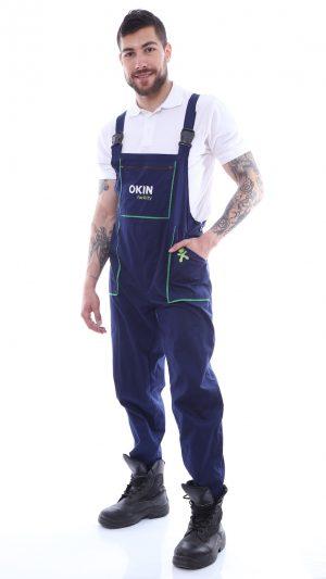pantalon cu pieptar personalizat