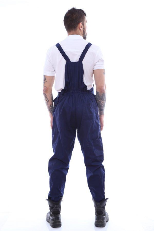pantalon cu pieptar bretele