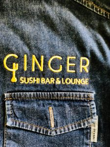 broderie camasa denim ginger