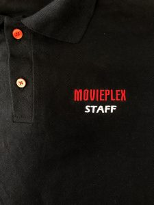 broderie pe tricou polo movieplex
