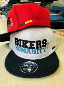 broderie sapca bikers