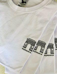 broderie tricou la baza gatului arcul de triumf