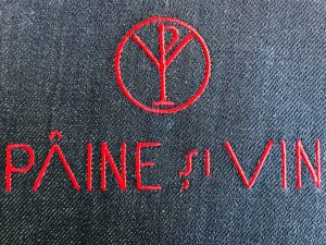 broderie sort paine si vin