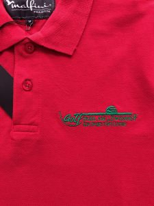 broderie tricou club de golf