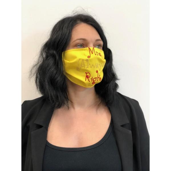 masca refolosibila personalizata
