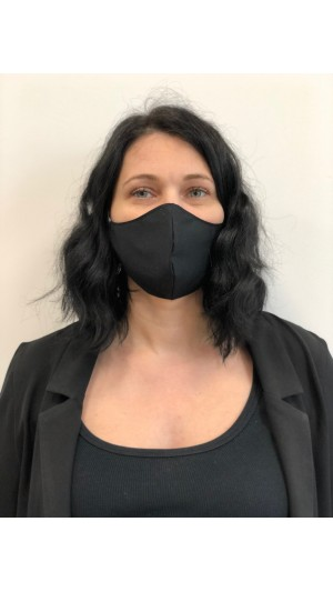masca de protectie neagra