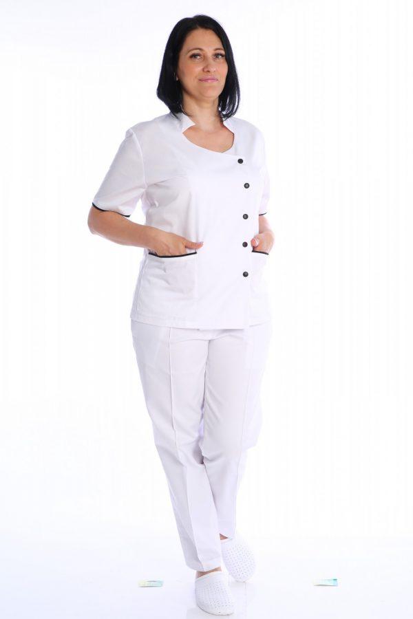 costum medical alb Alexandra