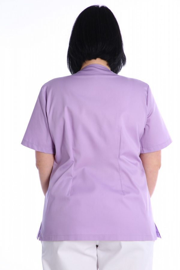 halat medic lila spate