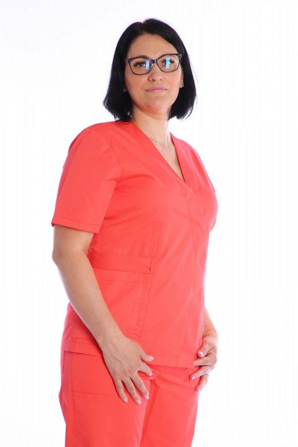 bluza medic petrcuta profil