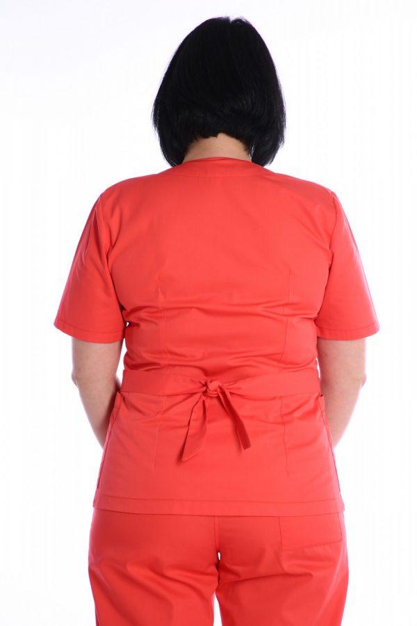 bluza medic cu cordon la spate