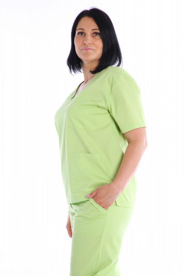 bluza medic verde