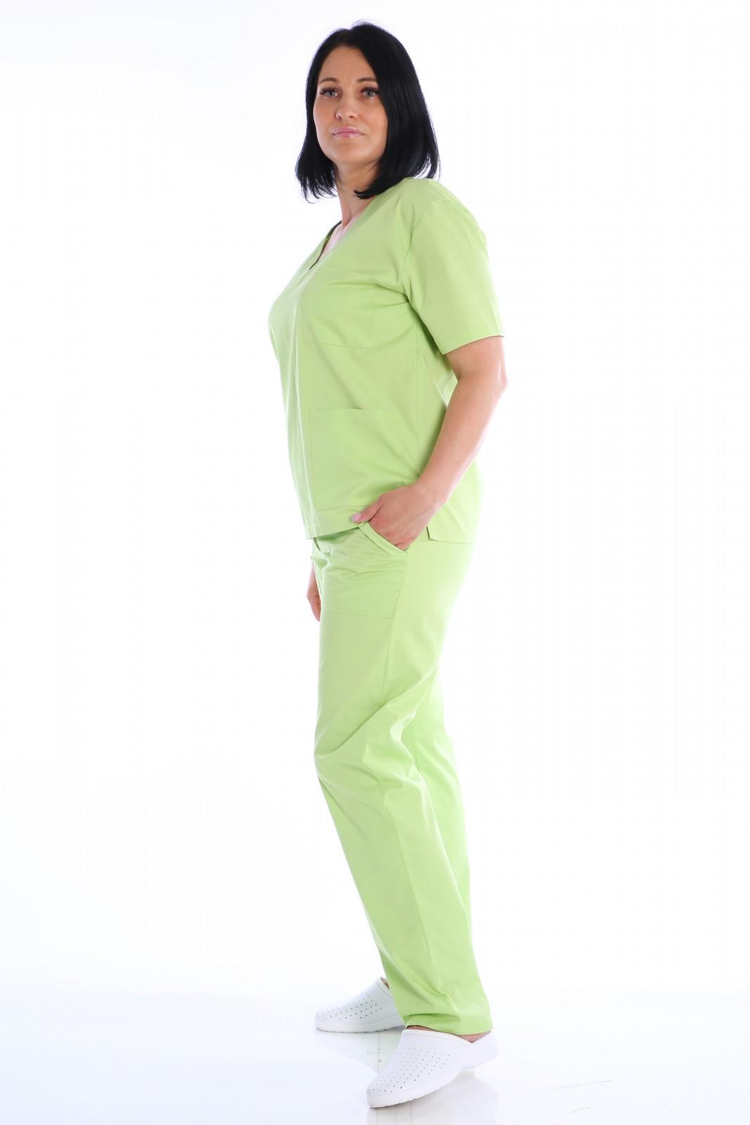 uniforma medicala verde lime