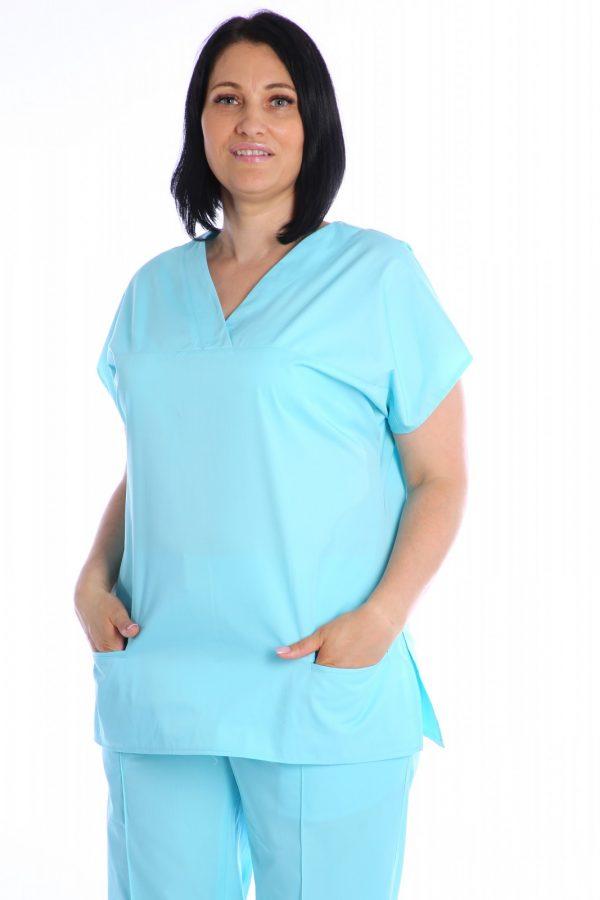 bluza cambrata bleu