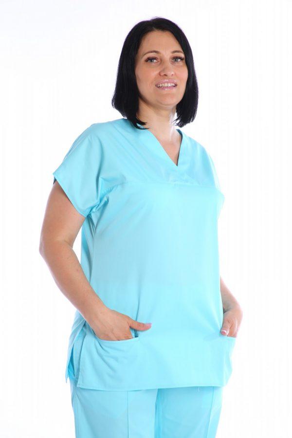bluza medic cambrata bleu